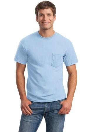 Gildan® - Ultra Cotton® 100% Cotton T-Shirt with Pocket.  2300