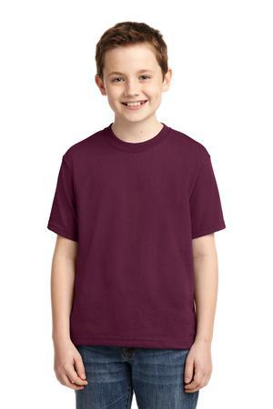 JERZEES® - Youth Heavyweight Blend™ 50/50 Cotton/Poly T-Shirt.  29B