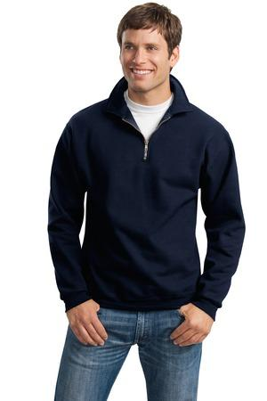 JERZEES® SUPER SWEATS® - 1/4-Zip Sweatshirt with Cadet Collar.  4528M