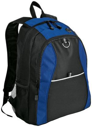 Port & Company® Improved Contrast Honeycomb Backpack. BG1020