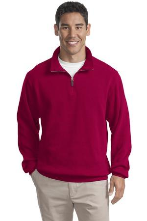Port Authority® Flatback Rib 1/4-Zip Pullover.  F220