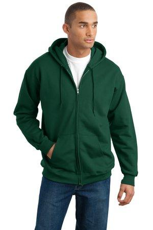Hanes® Ultimate Cotton® - Full-Zip Hooded Sweatshirt.  F283