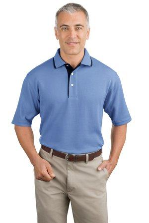 CLOSEOUT Port Authority® Pinpoint™ Knit Polo.  K447