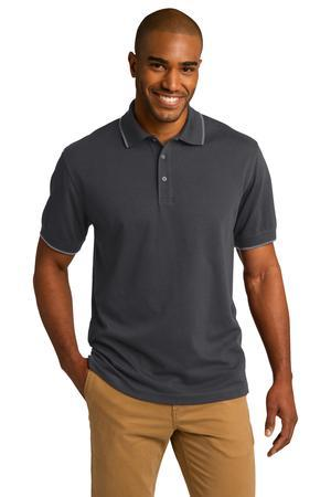 Port Authority® Rapid Dry™ Tipped Polo. K454