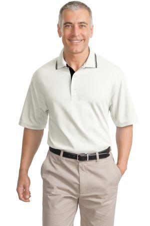 CLOSEOUT Port Authority® Rapid Dry™ Polo with Contrast Trim.  K456