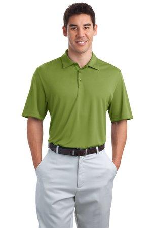DISCONTINUED Port Authority® Poly-Bamboo Charcoal Birdseye Jacquard Polo. K498