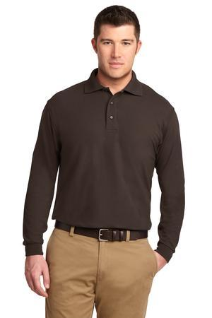 Port Authority® Long Sleeve Silk Touch™ Polo.  K500LS