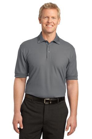 DISCONTINUED Port Authority® Silk Touch™ Tipped Polo. K502