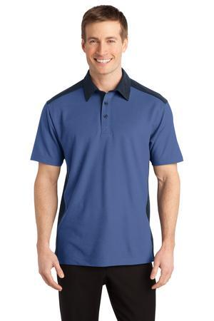 CLOSEOUT Port Authority® Silk Touch™ Colorblock Polo. K529