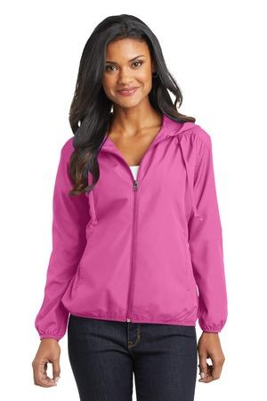 Port Authority® Ladies Hooded Essential Jacket. L305