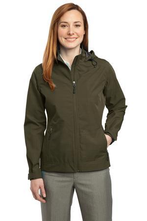 CLOSEOUT Port Authority® Ladies Reliant Hooded Jacket. L308