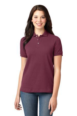 Port Authority® Ladies Pique Knit Polo.  L420