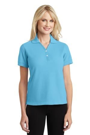 Port Authority® Ladies 100% Pima Cotton Polo.  L448