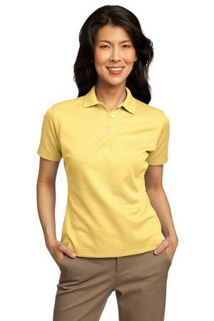 CLOSEOUT Port Authority® Ladies Shadow Stripe Interlock Polo.  L459
