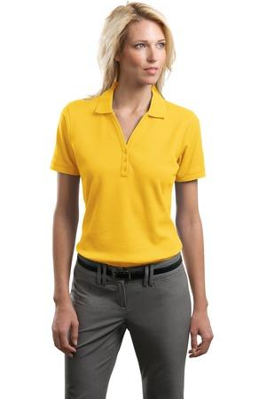 CLOSEOUT Port Authority® Ladies Performance Waffle Mesh Polo. L492