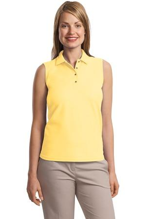 Port Authority® Ladies Silk Touch™ Sleeveless Polo.  L500SVLS
