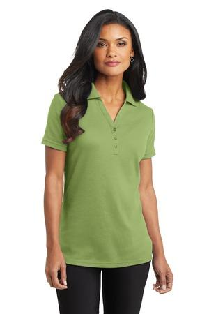 Port Authority® Ladies Silk Touch™ Interlock Polo. L520