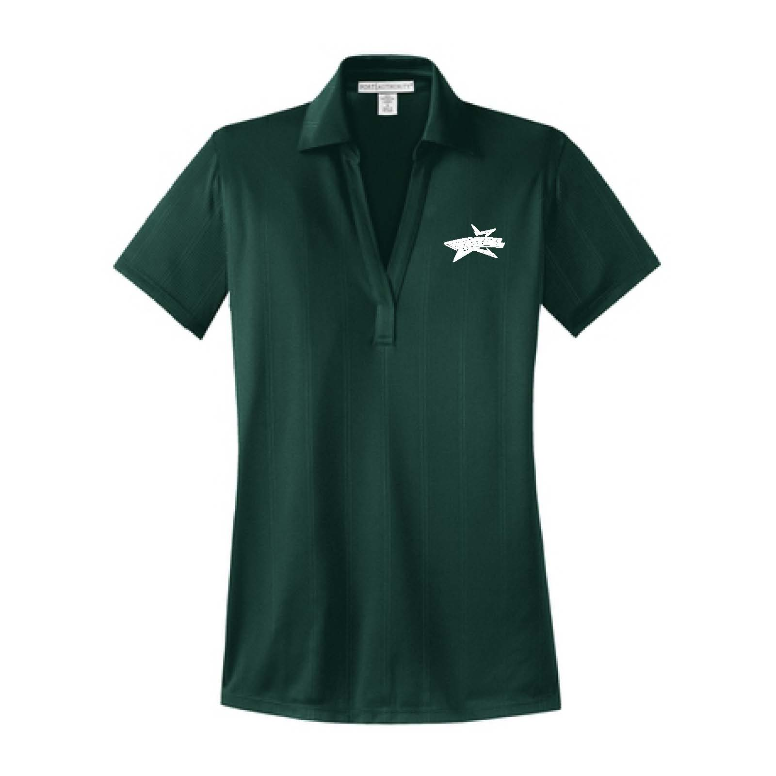 Port Authority® Ladies Performance Fine Jacquard Polo. L528