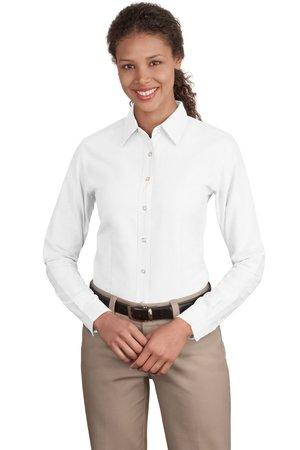 DISCONTINUED Port Authority® Ladies Classic Oxford.  L606