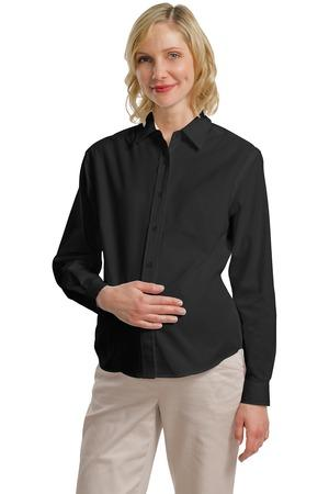 Port Authority® Maternity Long Sleeve Easy Care Shirt.  L608M