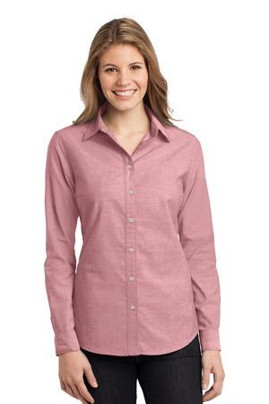 Port Authority® Ladies Chambray Shirt. L653