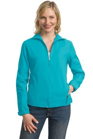 CLOSEOUT Port Authority® Ladies Full-Zip Wind Jacket. L707