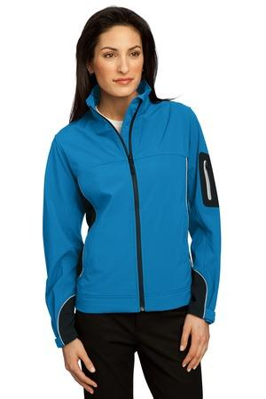 CLOSEOUT Port Authority® Ladies Quantum Soft Shell Jacket. L725
