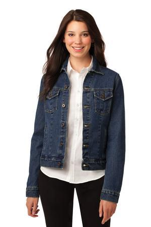 Port Authority® Ladies Denim Jacket. L7620