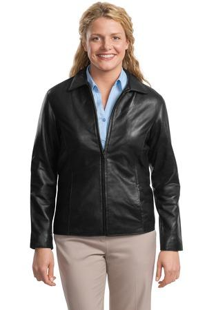 DISCONTINUED Port Authority® Ladies Park Avenue Lambskin Jacket.  L785