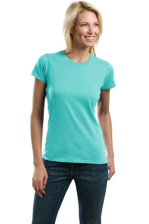 CLOSEOUT Port Authority® Ladies Concept Crewneck Tee. LM1001