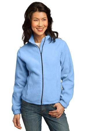 DISCONTINUED Port Authority® Ladies R-Tek® Fleece Full-Zip Jacket.  LP77