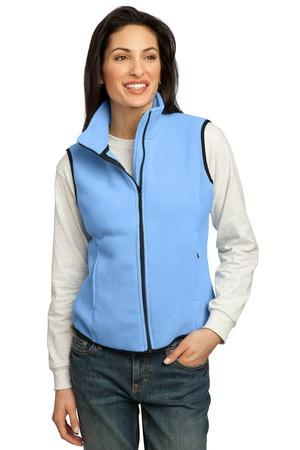 DISCONTINUED Port Authority® Ladies R-Tek® Fleece Vest.  LP79