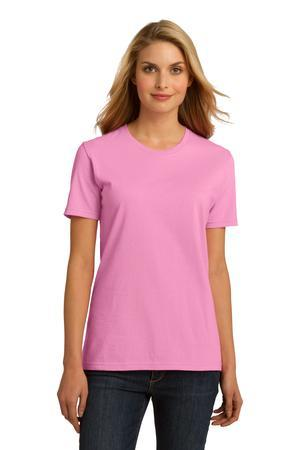 Port & Company® Ladies Essential 100% Organic Ring Spun Cotton T-Shirt. LPC150ORG