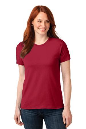 Port & Company® Ladies 50/50 Cotton/Poly T-Shirt. LPC55