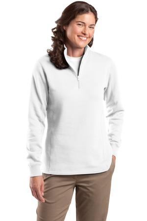 Sport-Tek® Ladies 1/4-Zip Sweatshirt. LST253