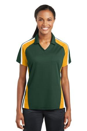 Sport-Tek® Ladies Tricolor Micropique Sport-Wick®Polo. LST654