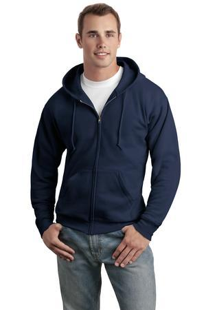 Hanes® - EcoSmart® Full-Zip Hooded Sweatshirt. P180