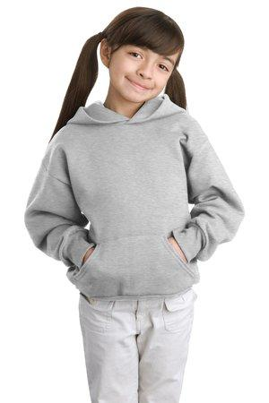 Hanes® - Youth EcoSmart® Pullover Hooded Sweatshirt.  P470