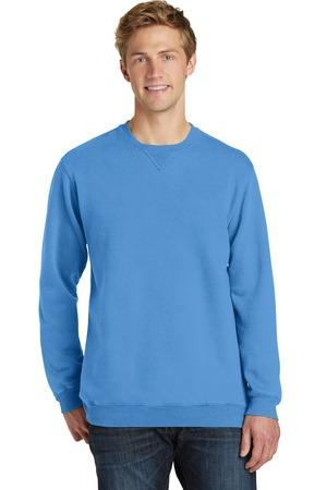 Port & Company® Essential Pigment-Dyed Crewneck Sweatshirt. PC098