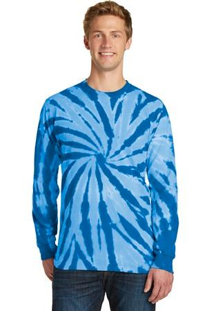 Port & Company® Essential Tie-Dye Long Sleeve Tee.  PC147LS