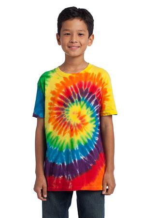 Port & Company® - Youth Essential Tie-Dye Tee. PC147Y