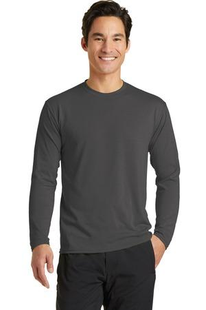 Port & Company® Long Sleeve Essential Blended Performance Tee. PC381LS