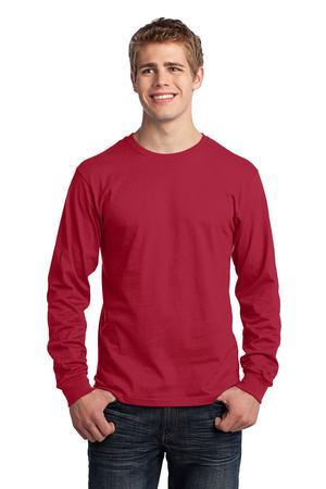 Port & Company® - Long Sleeve 5.4-oz. 100% Cotton T-Shirt. PC54LS