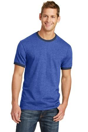 Port & Company® 5.4-Oz 100% Cotton Ringer Tee.  PC54R