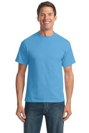 Port & Company® Tall 50/50 Cotton/Poly T-Shirts. PC55T