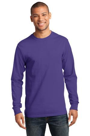 Port & Company® - Tall Long Sleeve Essential T-Shirt. PC61LST