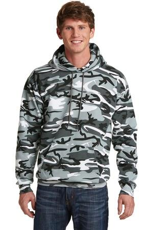 Port & Company® Classic Camo Pullover Hooded Sweatshirt. PC78HC