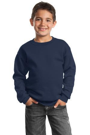 Port & Company® - Youth Crewneck Sweatshirt.  PC90Y