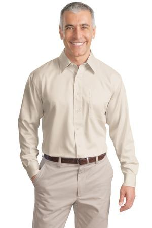 Port Authority® Long Sleeve Non-Iron Twill Shirt.  S638