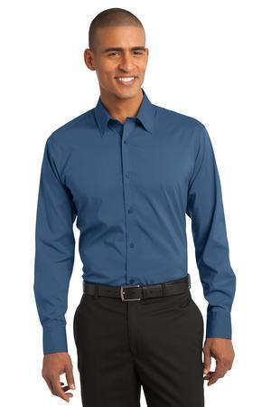Port Authority® Stretch Poplin Shirt. S646